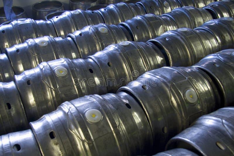 Vaten bier royalty-vrije stock afbeelding