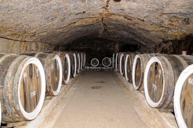 Vaten wijn royalty-vrije stock foto