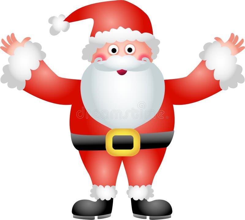 Vater-Weihnachten stock abbildung