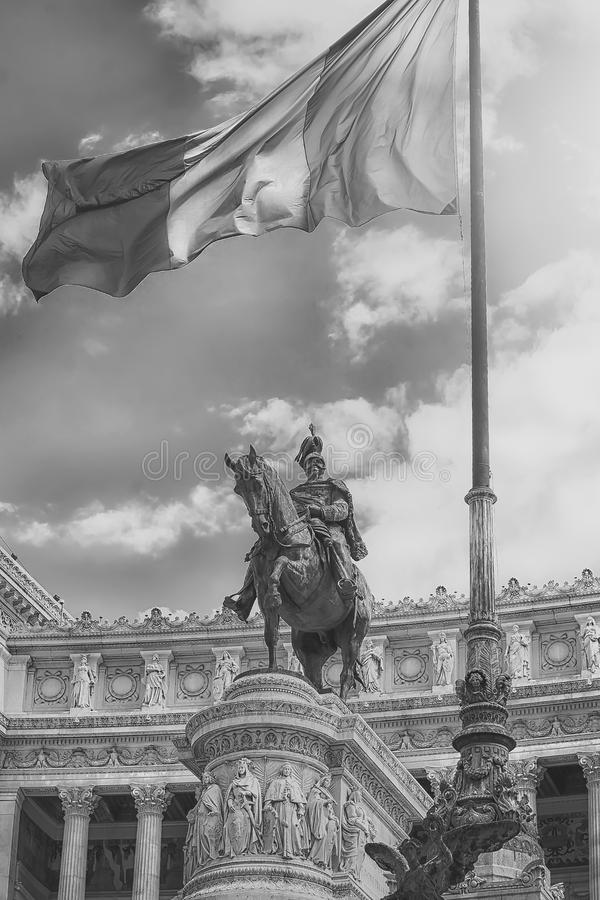Vaterland-Altar Rom Italien lizenzfreie stockfotos