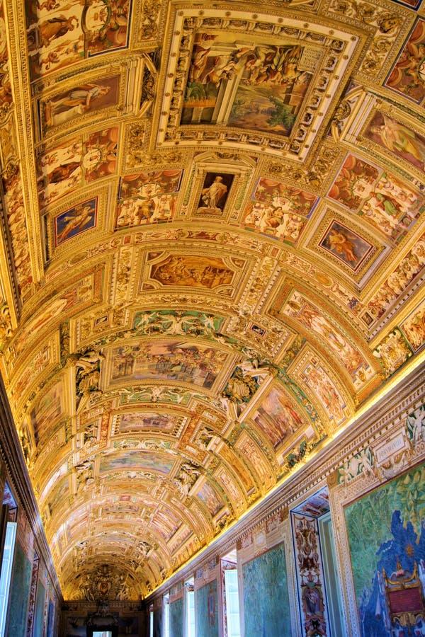 Download Vatican art stock photo. Image of gallery, chapel, detail - 24254124