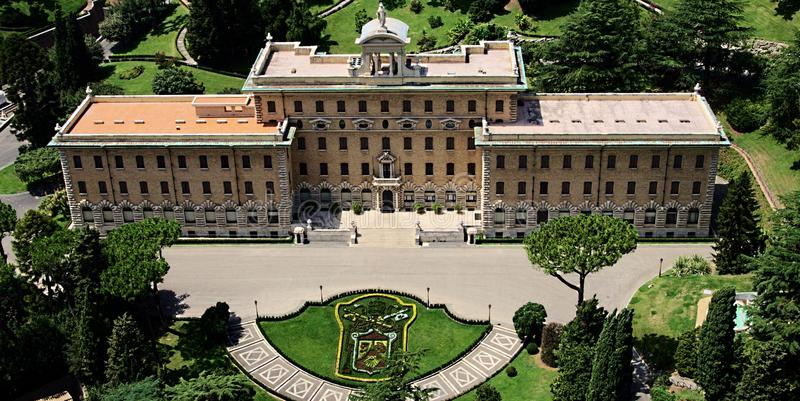 Vatican building panorama stock photo stock image