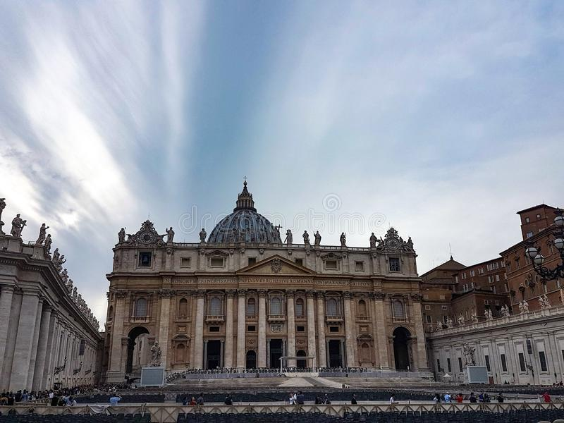 Vatican City i Rome royaltyfri fotografi