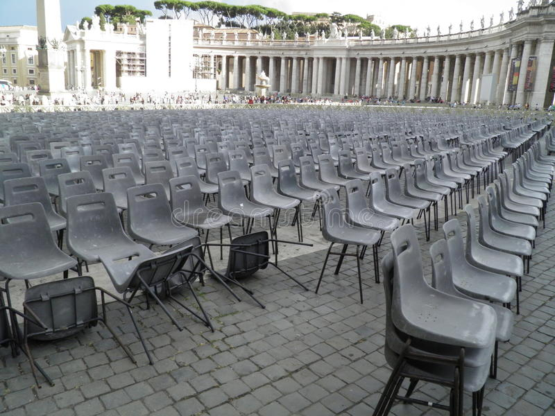 Audience Empty Seats Editorial Image