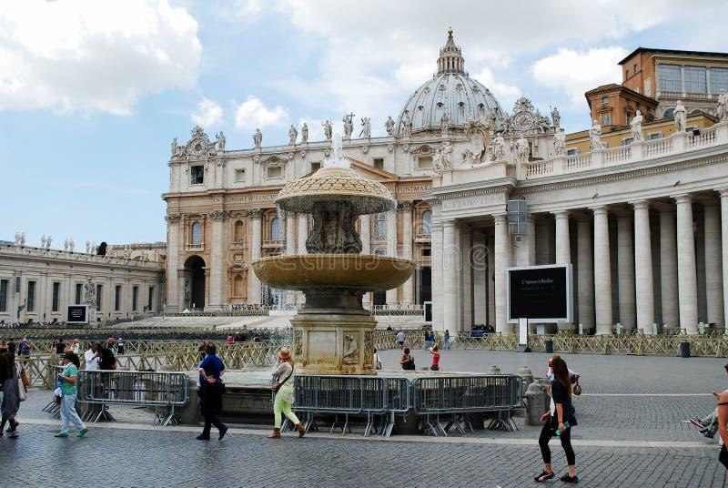 Vatican City mittliv på Maj 30, 2014 royaltyfri foto