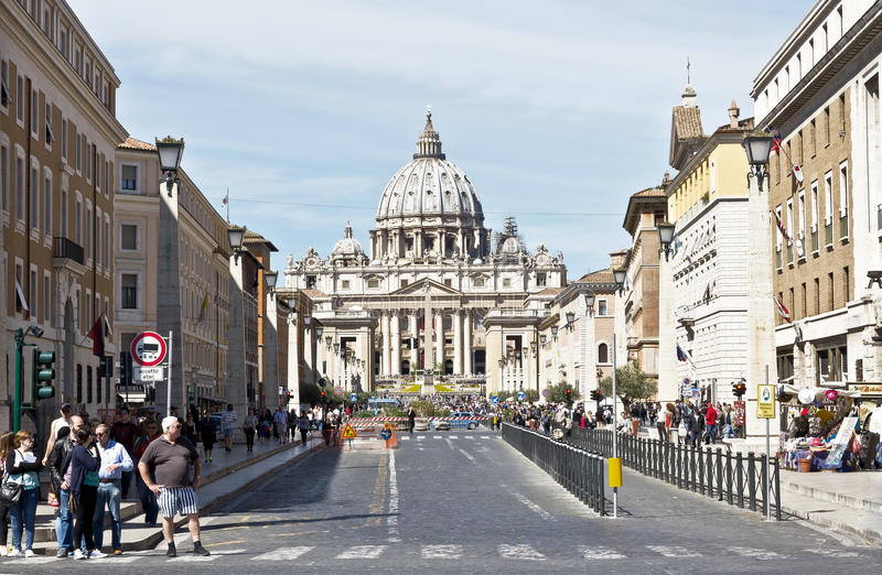 Vatican City, Rome, Italy stock photography