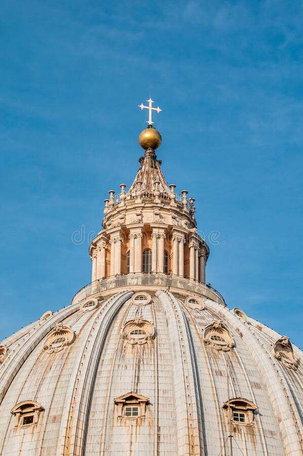 Vatican City in Rome, Italy. Vatican City State (Stato della Citta del Vaticano) in Rome, Italy stock photography