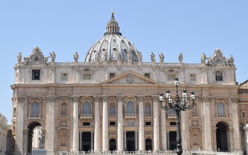 Vatican City in Rome. Italy stock image
