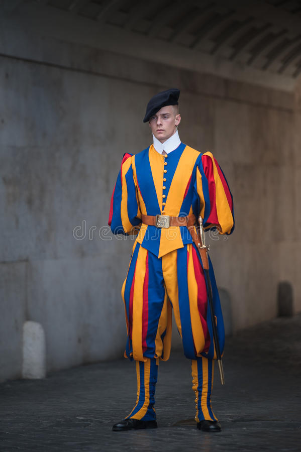 SEPTEMBER 3: Famous Swiss Guard