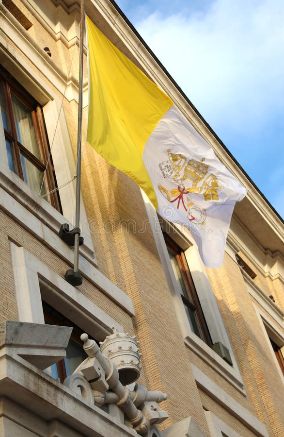 Papal Symbol Statues Vatican Museum Editorial Image