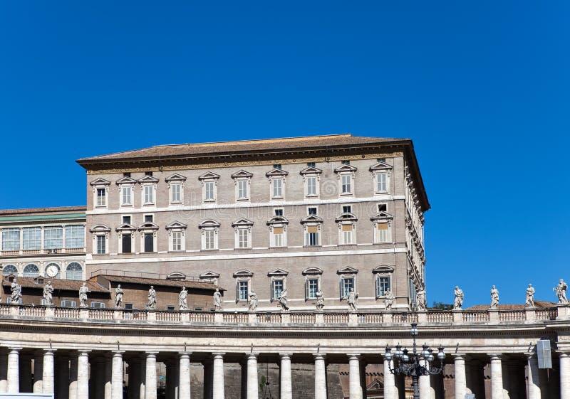 Vatican.Close upp i en solig dag arkivfoto