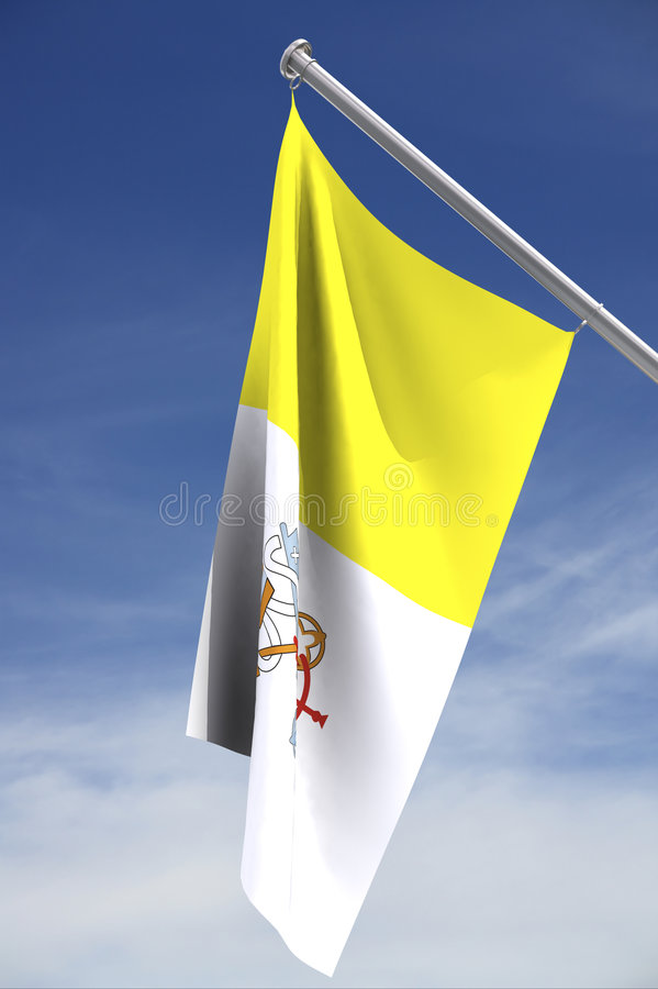 Vatican Flag Stock Photos