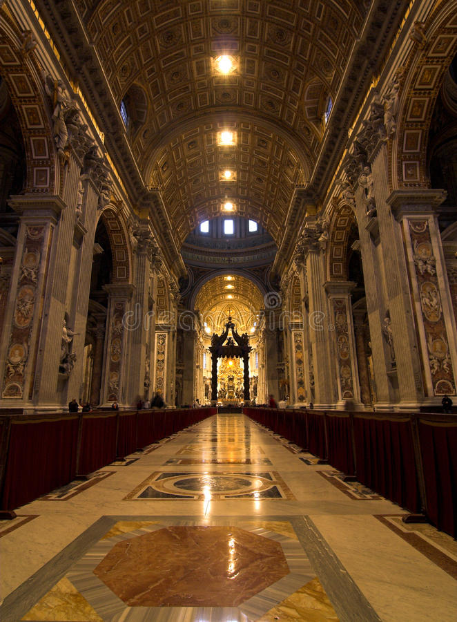 Vatican - inside view. Different view of vatican city royalty free stock photo