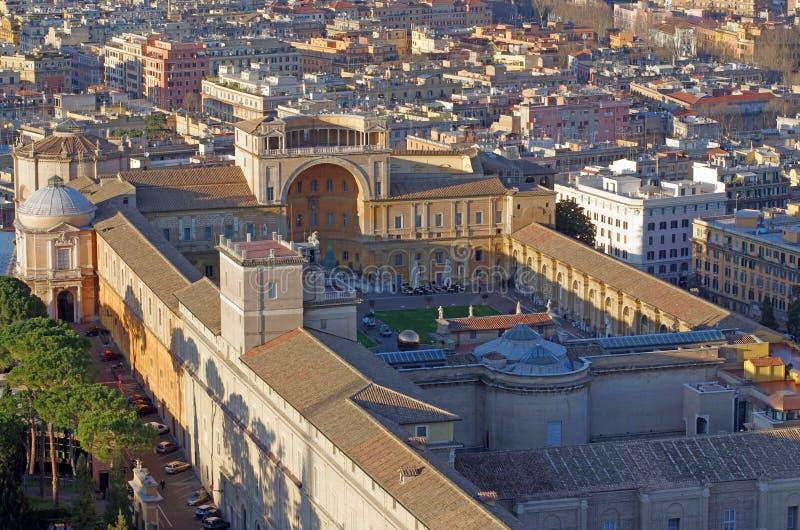 Vatican-Museum lizenzfreie stockfotografie