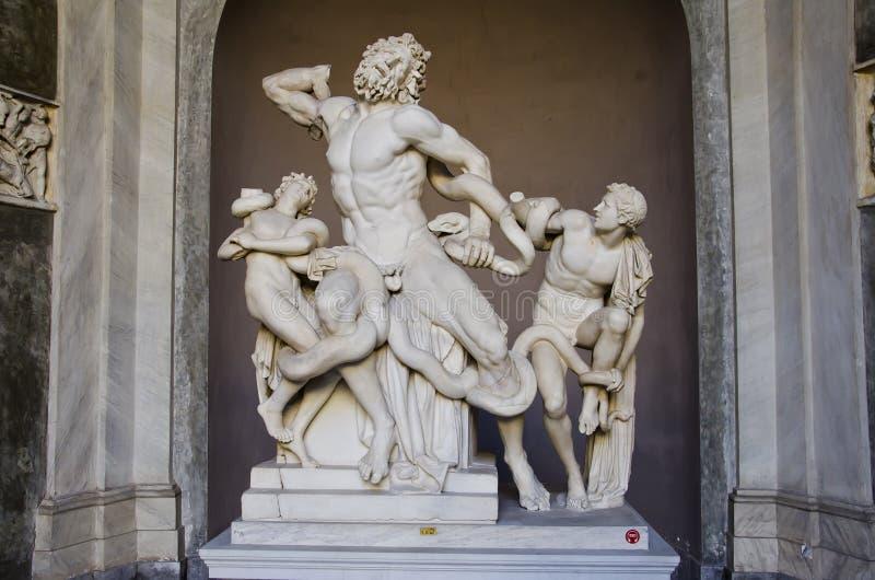 Vatican Museum stock image
