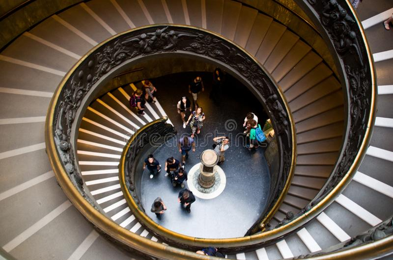 The Vatican Museums stock images