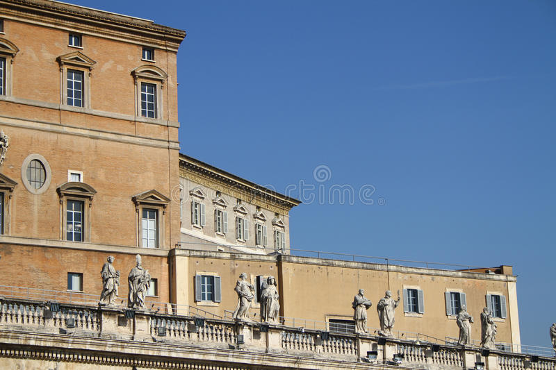Download Vatican pope's apartment stock image. Image of architecture - 22127425