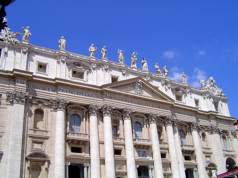 The Vatican - Rome stock photography