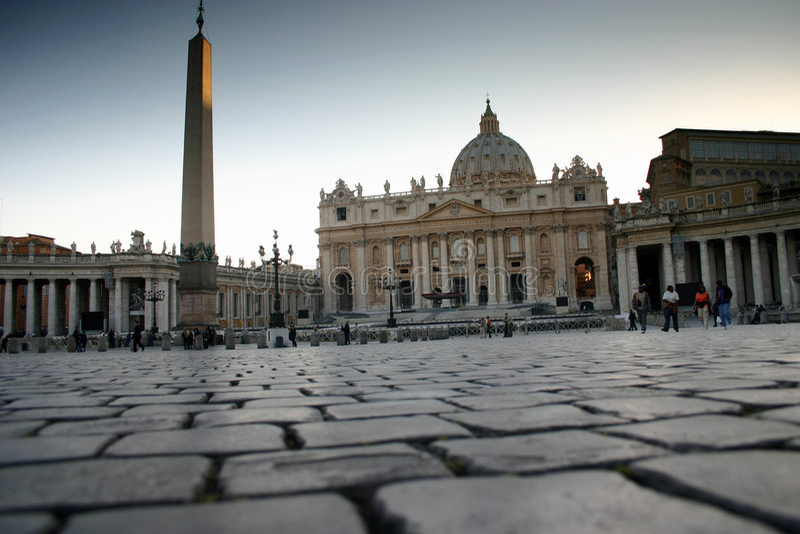 Vatican schräg lizenzfreie stockfotos