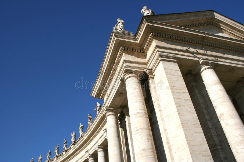 Vatican St. Peter Cathedral royalty free stock images