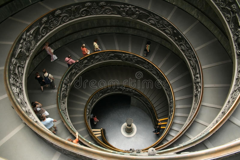 Vatican Staircase Editorial Photography