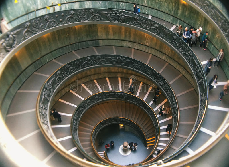 Vatican stairs royalty free stock images