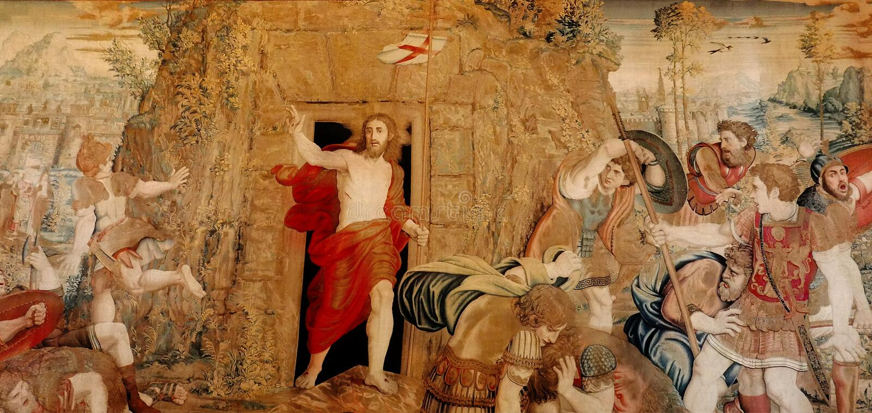 Vaticanen uppståndelse av Kristus royaltyfri fotografi