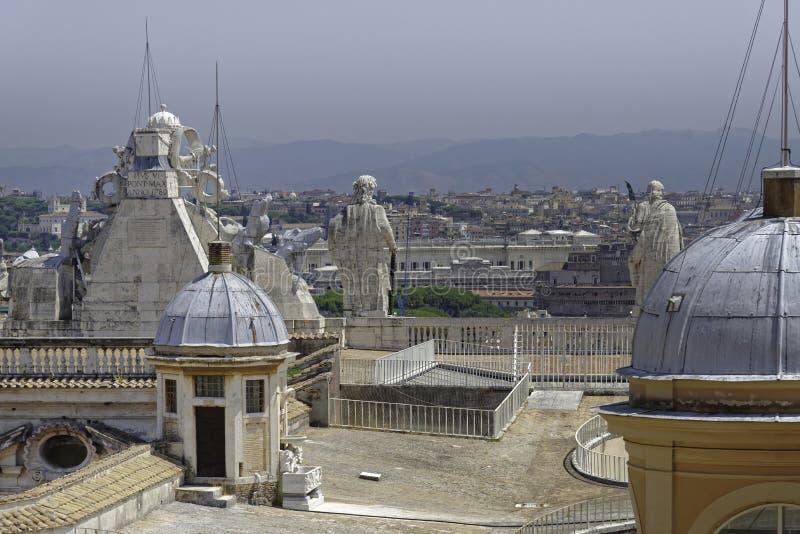 Vaticanentakdetalj arkivbild