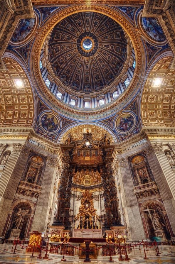 Vaticano Italia de la bóveda fotos de archivo libres de regalías