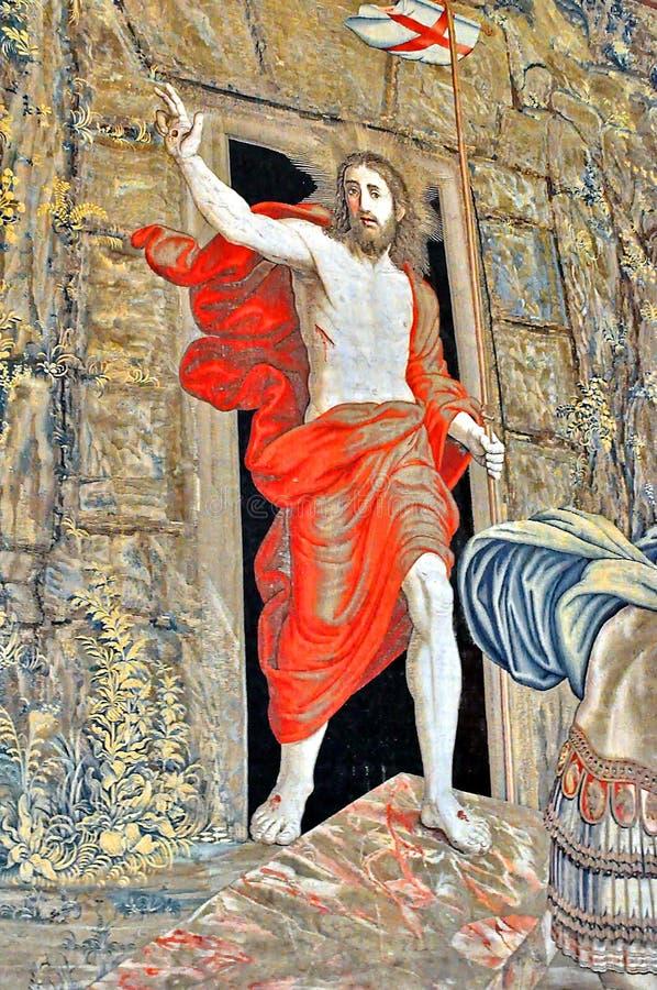 Vaticano, resurrección de Cristo foto de archivo