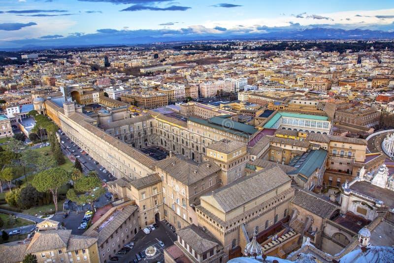 Vaticano Roma Italia de la basílica del ` s de San Pedro de la capilla de Sistine del museo fotos de archivo libres de regalías
