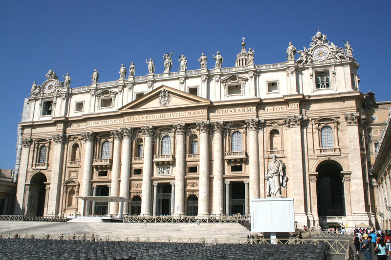 Download Vaticano S. Pietro Roma stock image. Image of famous, architecture - 3077579