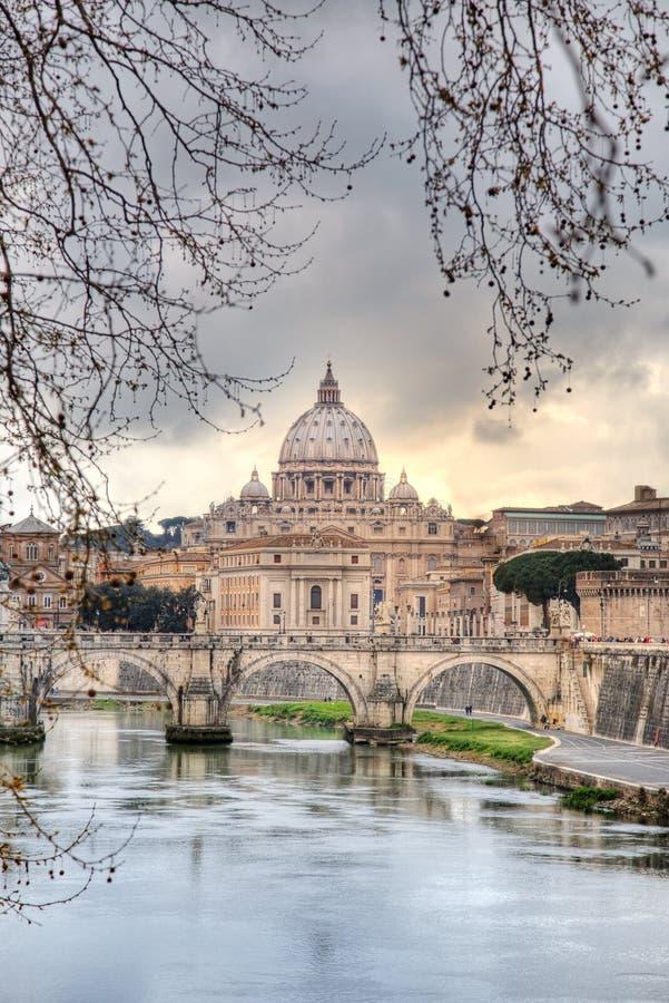 Vatikaan Rome stock fotografie
