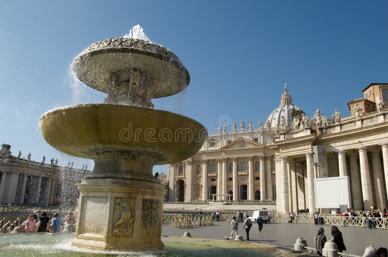Vatikaan Rome stock afbeelding