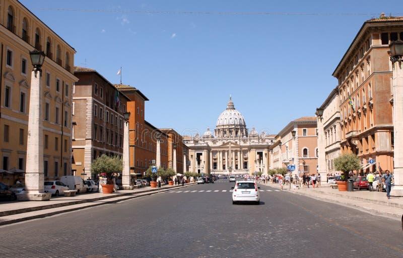 Vatikaan Rome Italië royalty-vrije stock foto's