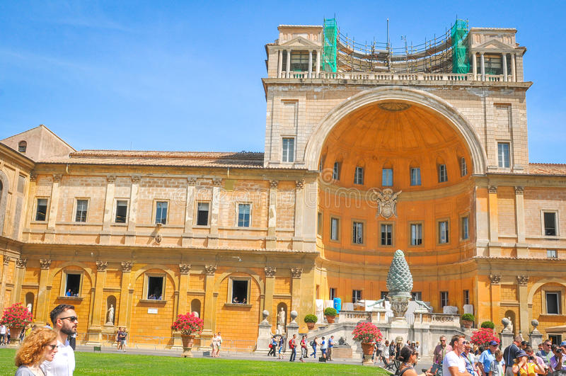 Vatikaan in Rome, Itali? stock fotografie