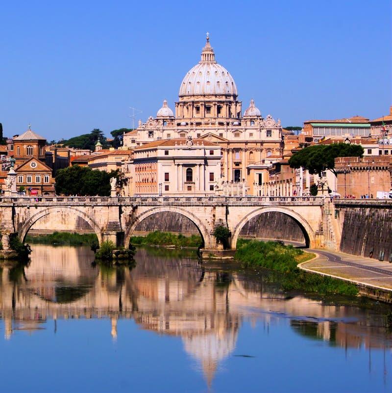 Vatikan-Ansicht stockfotografie