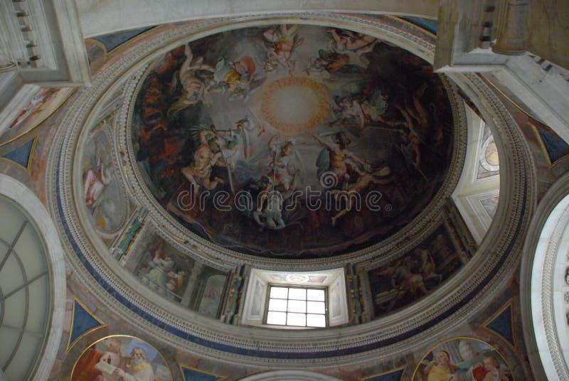 Vatikan-Museen, Haube, Kunst, Basilika, altes Rom lizenzfreie stockfotografie