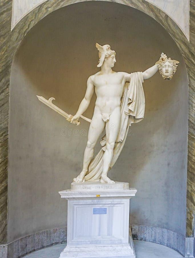 VATIKANSTADT, ITALIEN: AM 11. OKTOBER 2017: Perseo-trionfante, Pers stockfotografie