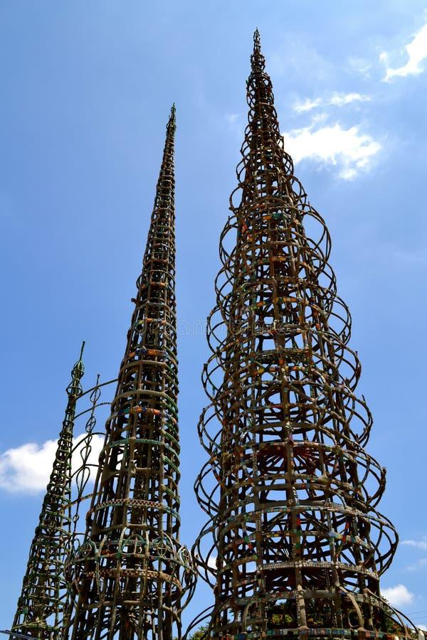 Vatios de torres foto de archivo
