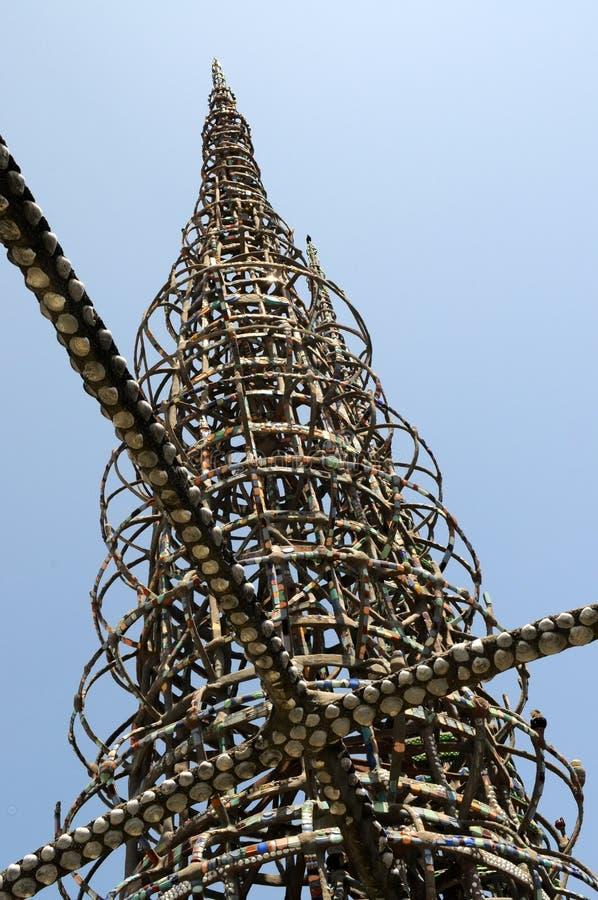 Vatios de torres, Los Ángeles, California foto de archivo libre de regalías
