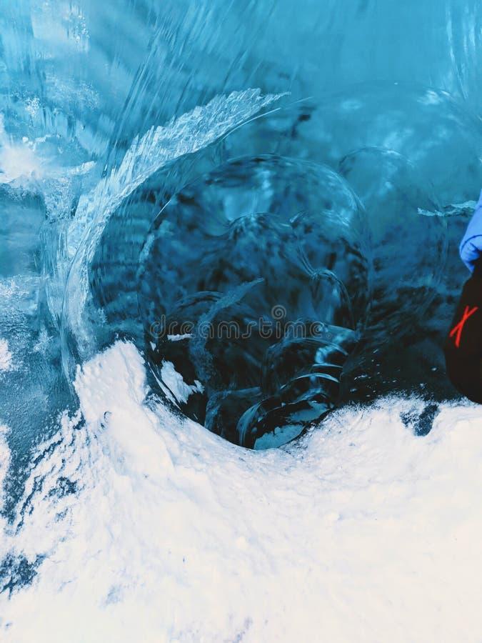 Vatnajökull glaciär royaltyfri bild