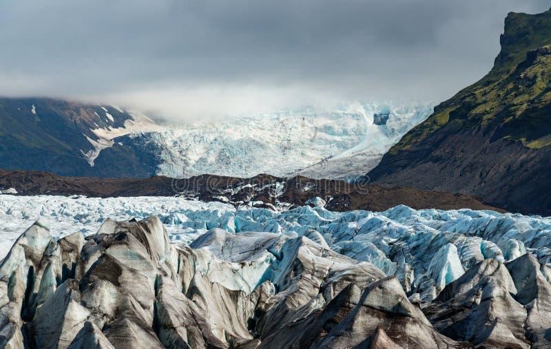 Vatnajokull glacier in Iceland. Majestic Vatnajokull glacier in Iceland stock image