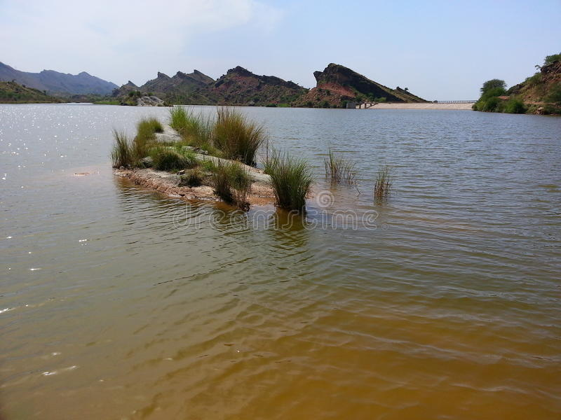 Vatten av chakwal royaltyfri bild
