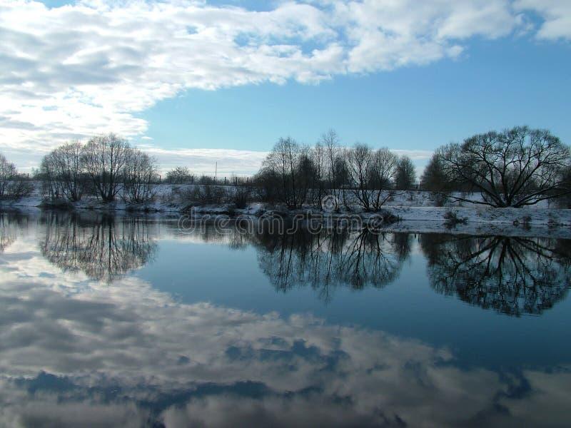 Vatten För 3 Reflexion Arkivfoton