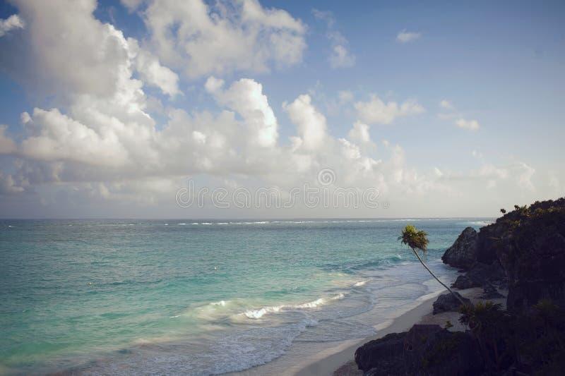 vatten för sikt för oklarhetshavsky fotografering för bildbyråer