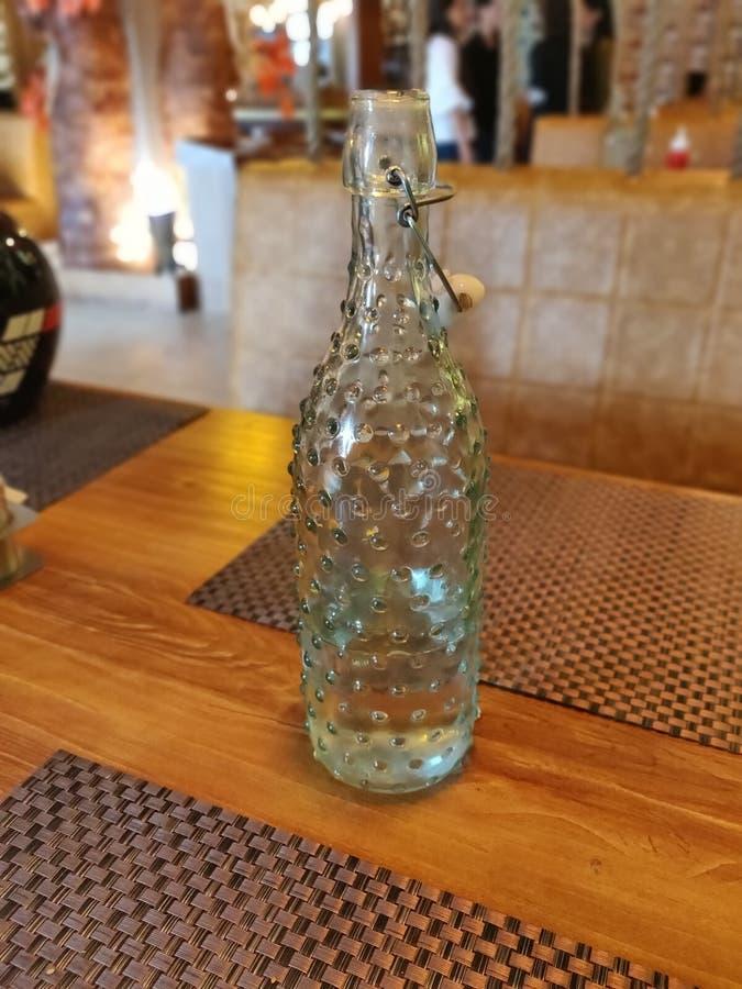 vatten f?r version f?r flaskillustrationraster royaltyfri bild