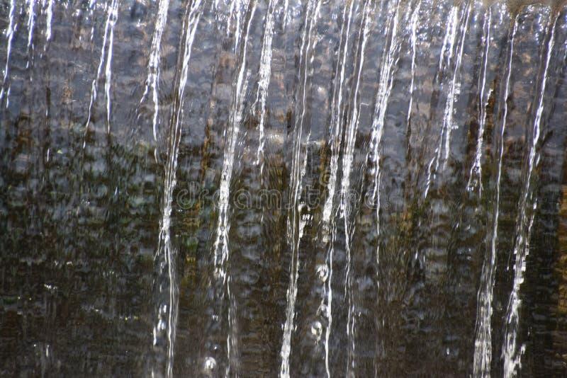 Vatten och bubblor arkivfoto