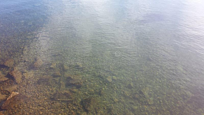 Vatten på sjön Constance arkivfoton