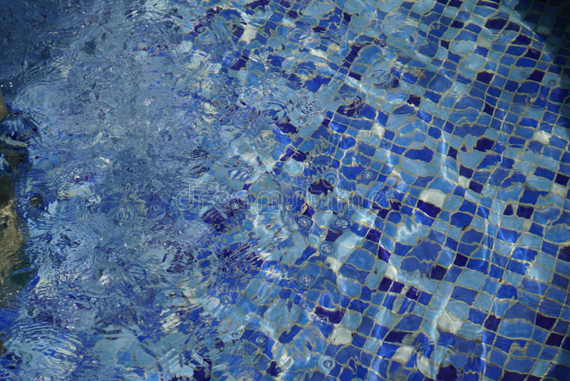 Vatten ripples textur royaltyfri bild